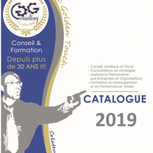 GG CONSULTING CATALOGUE 2020